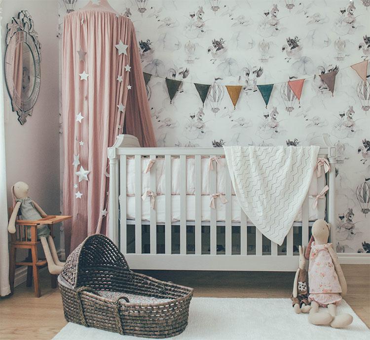 idée décoration chambre bébé
