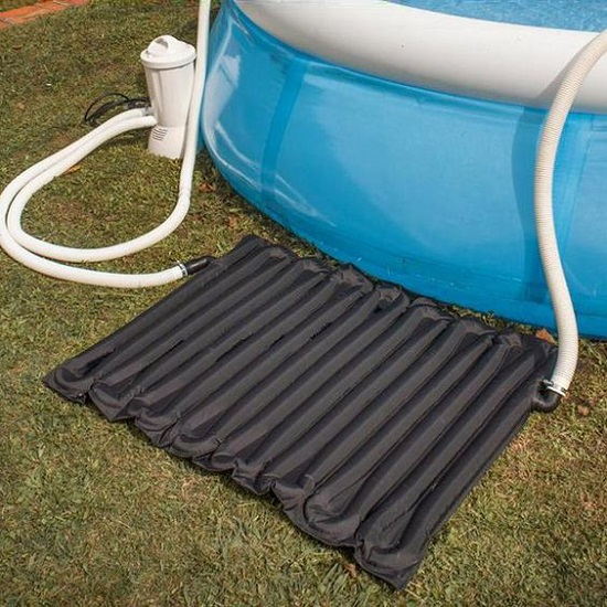 chauffage de piscine autoportant