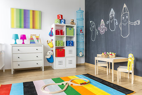 peinture chambre d 39 enfant 10 peintures originales et. Black Bedroom Furniture Sets. Home Design Ideas