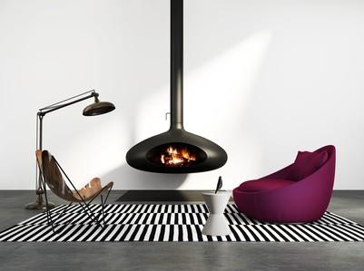 cheminée bois chauffage foyer économie énergie