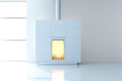 cheminée contemporaine chauffage bois