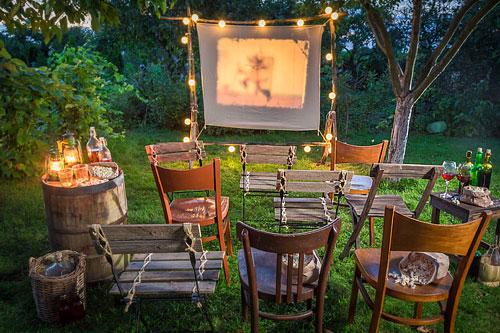 Cinéma jardin