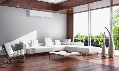 Climatisation réversible salon