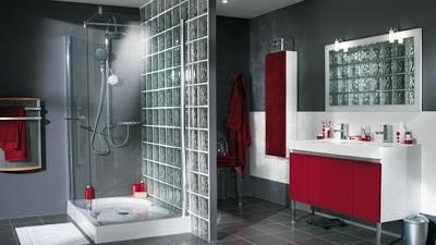 Cloisons en brique de verre tout savoir habitatpresto - Decoration douche maison ...