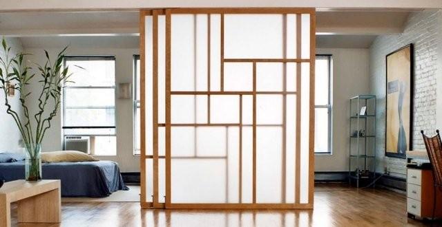 les cloisons japonaises prix et utilisation habitatpresto. Black Bedroom Furniture Sets. Home Design Ideas