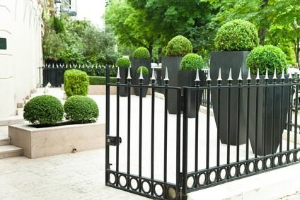 exemple clôture fer forgé