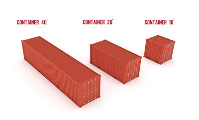 Dimensions d'un container