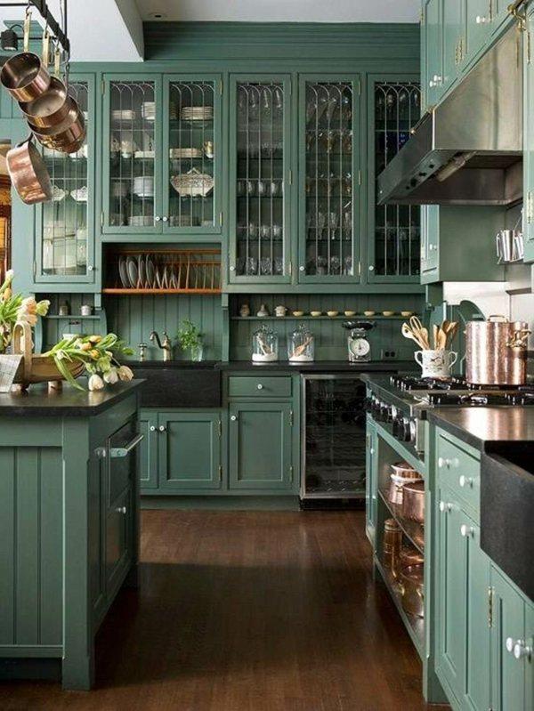 peinture pour cuisine 5 id es de couleurs tendances en 2018 habitatpresto. Black Bedroom Furniture Sets. Home Design Ideas