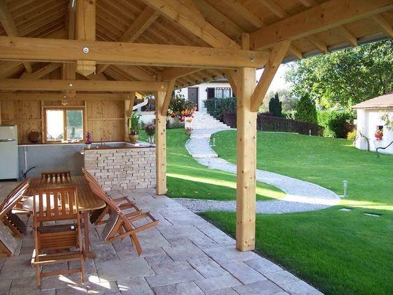 Exceptionnel 15 idées d'aménagement de cuisine d'été | Habitatpresto WK91