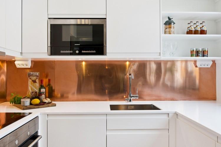 tendance d co mur int rieur la couleur cuivre. Black Bedroom Furniture Sets. Home Design Ideas