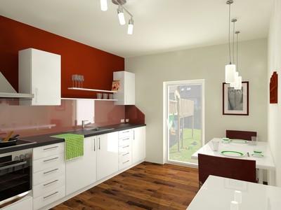Choisir la peinture murale pour votre cuisine habitatpresto - Peinture porte cuisine ...