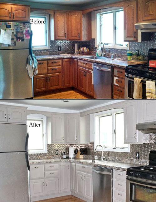 relooker une cuisine rustique 7 astuces pour la moderniser. Black Bedroom Furniture Sets. Home Design Ideas