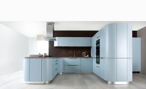 cuisine couleur bleue