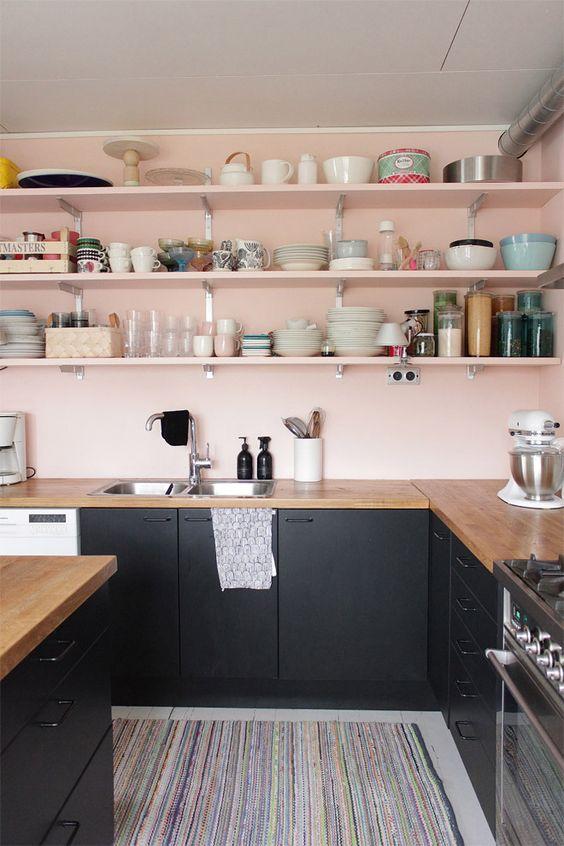 Peinture pour cuisine : 5 idées de couleurs tendances en 2018 ...
