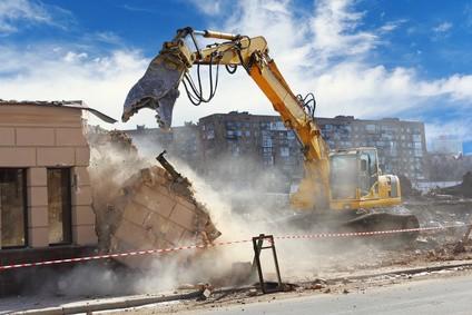 démolition gravats chantier