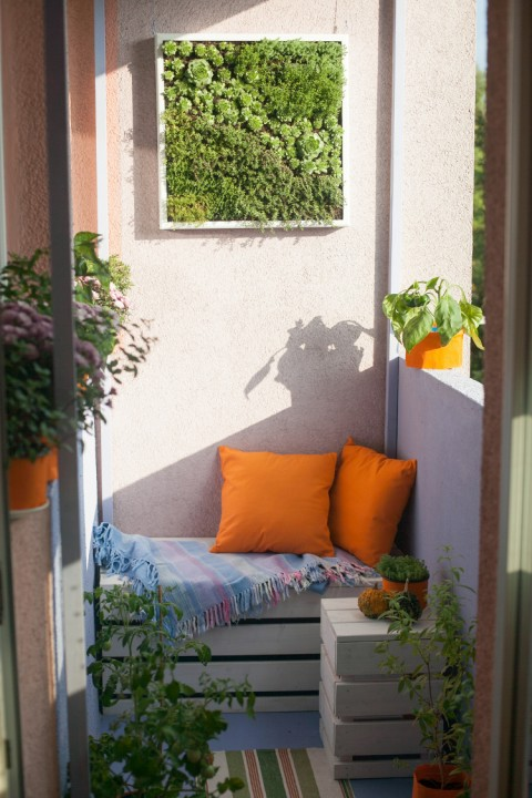 10 d corations pour am nager un balcon habitatpresto for Decoration balcon