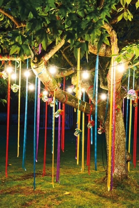 Inspirations décoration jardin de fête   Habitatpresto