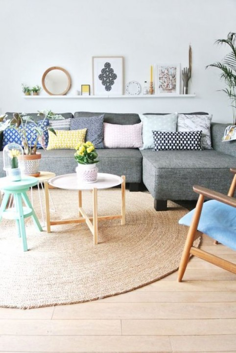Inspirations d coration scandinave pour le salon for Decoration interieur scandinave