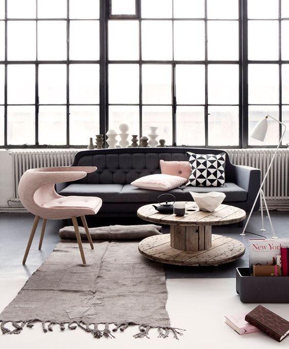décoration scandinave idées salon