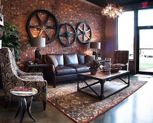 d coration loft industriel les 6 meilleures inspirations. Black Bedroom Furniture Sets. Home Design Ideas