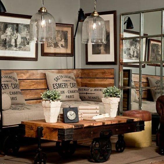 Idées décoration industrielle pour la maison  Habitatpresto
