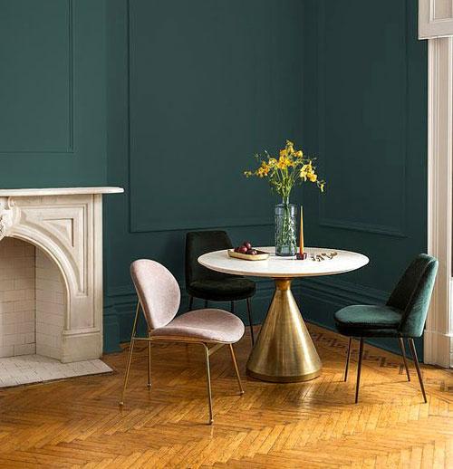 chaise salle a manger tendance 2019. Black Bedroom Furniture Sets. Home Design Ideas