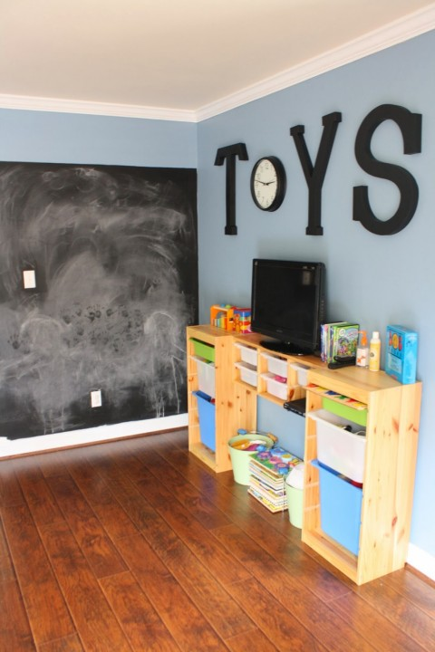 Id es d co pour salle de jeux enfants habitatpresto - Rangement salle de jeu ...