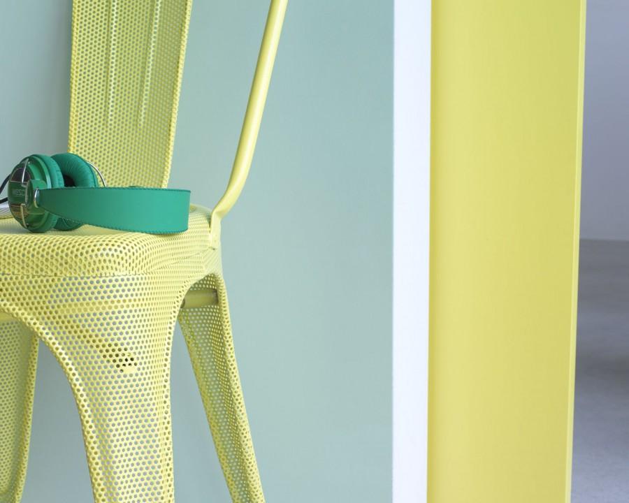 Salon jaune citron: un superbe graphisme jaune citron pour ...