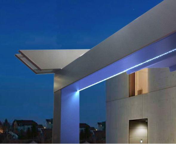 idée décoration extérieur éclairage