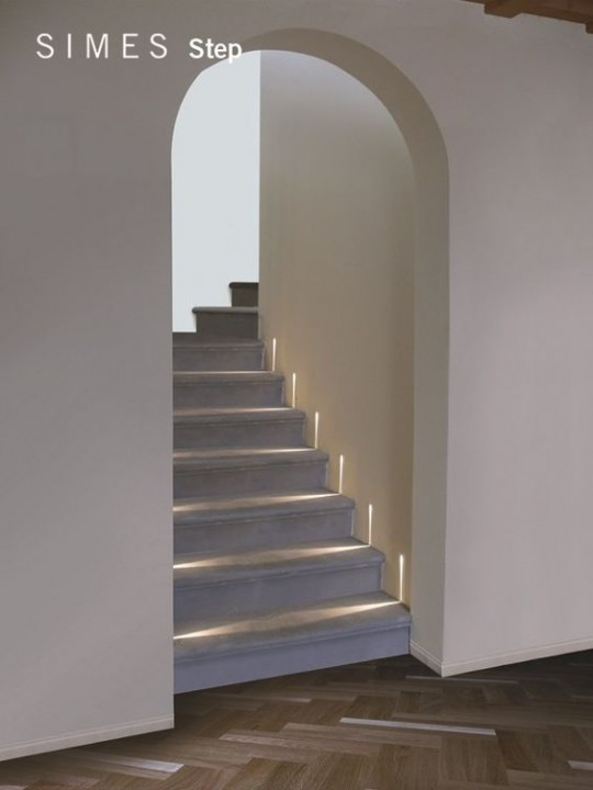 clairer un escalier avec des led 5 id es faciles et tendance habitatpresto. Black Bedroom Furniture Sets. Home Design Ideas