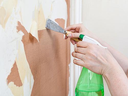 Enlever du papier peint