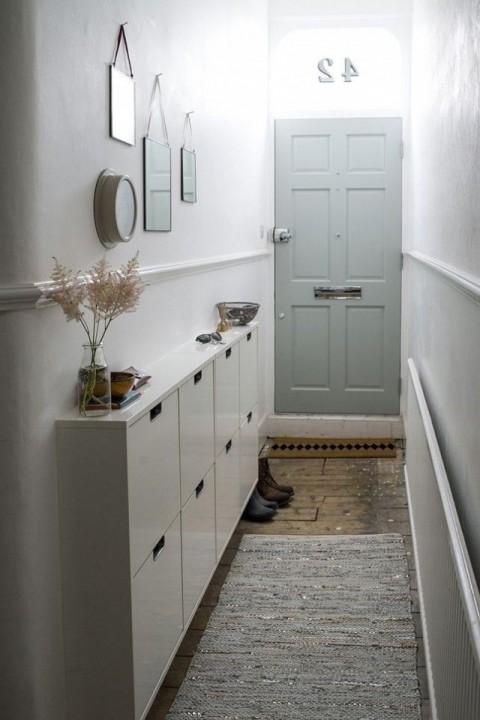 comment am nager un couloir sans perdre de place. Black Bedroom Furniture Sets. Home Design Ideas