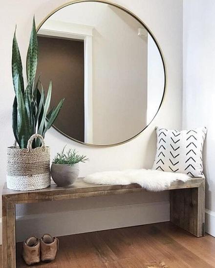 Entrée maison minimaliste