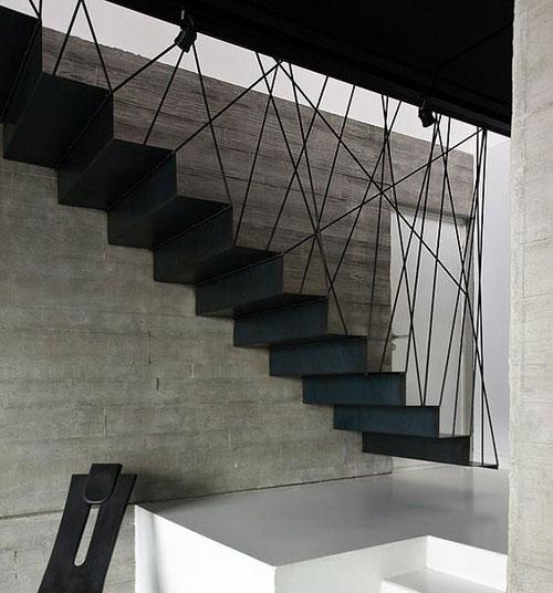 escalier-cordage