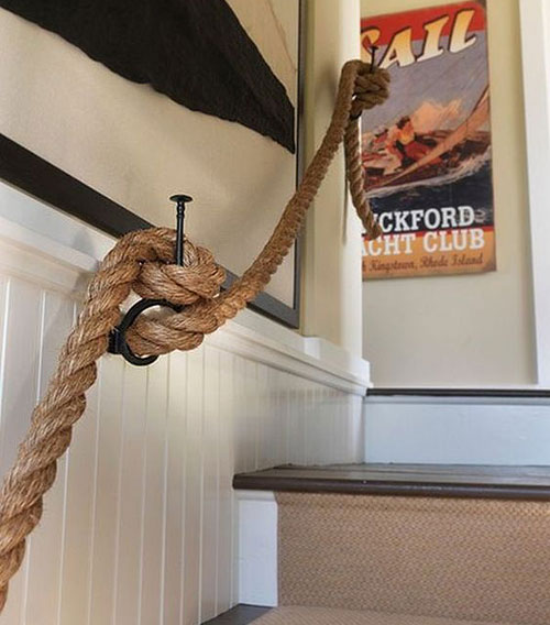escalier-corde