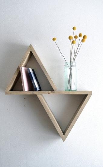 Etagère géométrique minimaliste