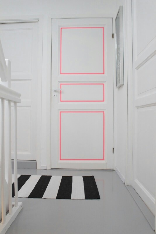 8 Idées Déco De Peinture Pour Portes Intérieures. | Habitatpresto