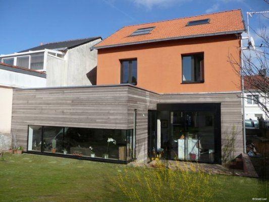 Agrandir la maison avec une sur l vation en bois habitatpresto - Cout d une maison container ...