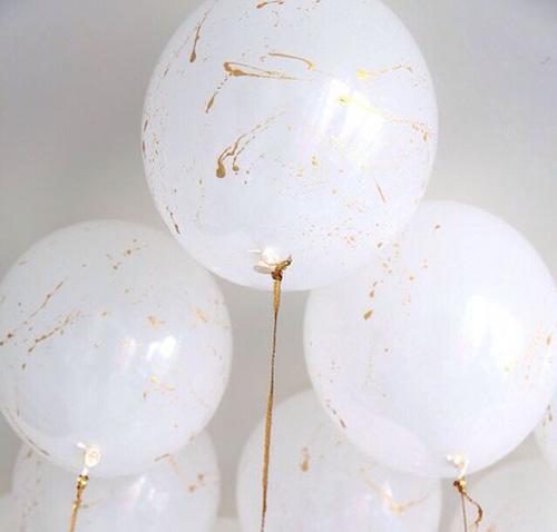 Ballons peints