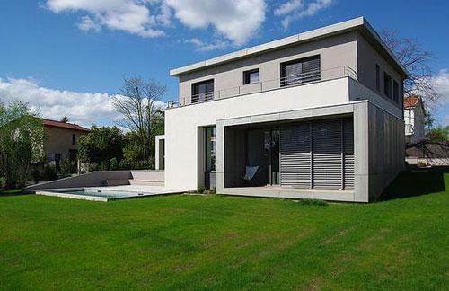 Awesome Maison Contemporaine Grise Images - House Design ...