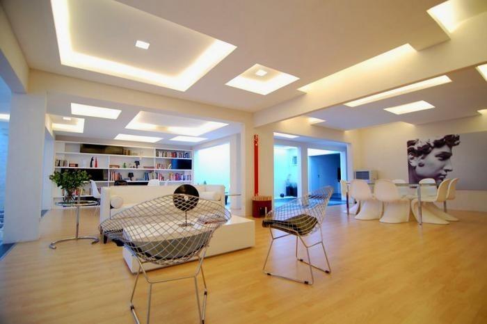 R nover et d corer avec des faux plafonds habitatpresto for Comfaux plafond contemporain