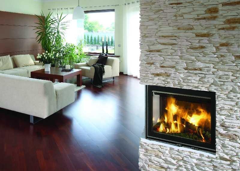 Grand Foyer Fermé : Chauffage au bois avec foyer fermé habitatpresto