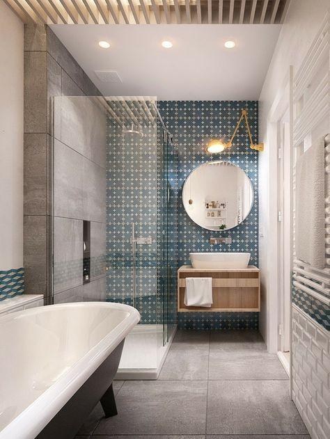 faux plafond salle de bain spots - Plafond De Salle De Bain