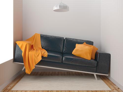 Canapé trop grand