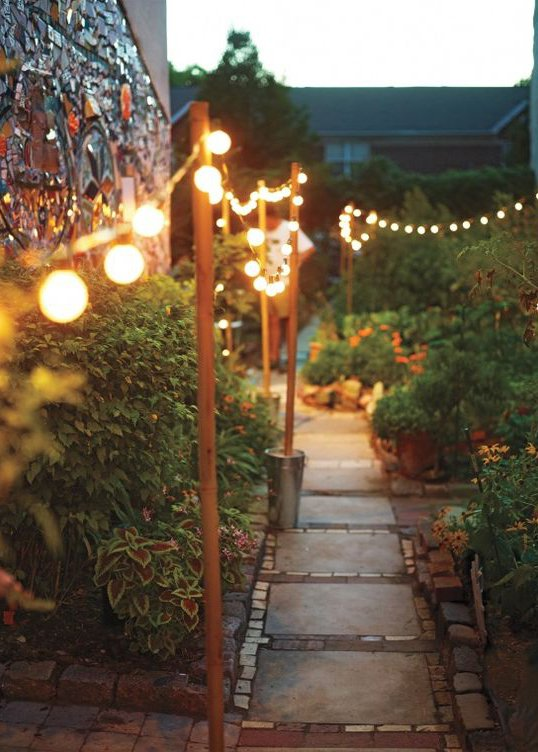 Déco : Les plus beaux éclairages extérieurs de jardin
