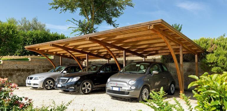 Carport une solution conomique pour prot ger sa voiture for Costo per costruire un garage per 2 auto