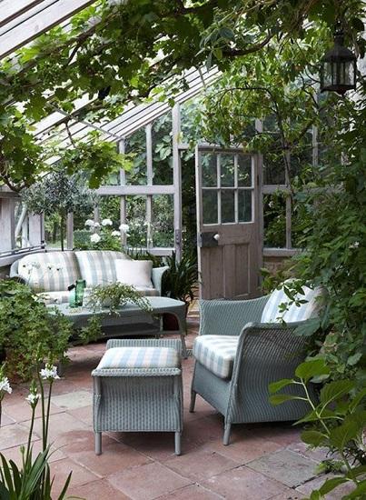 Jardin d'hiver veranda