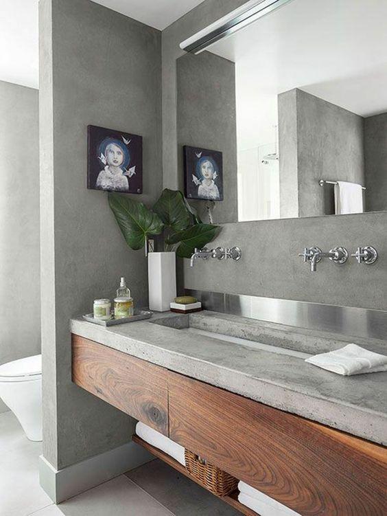 Béton ciré salle de bain : ce que vous devez savoir