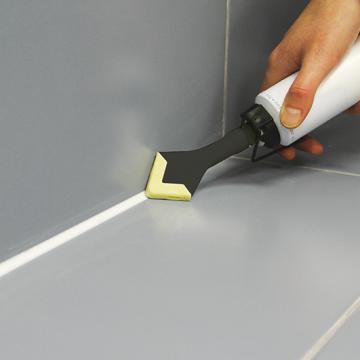 Comment refaire les joints de salle de bain - Faire joint silicone salle de bain ...
