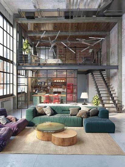 Loft ancienne usine vêtements